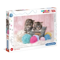SWEET KITTENS (104PC) 6+