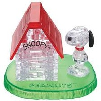 3D SNOOPY HOUSE CRYSTAL PUZZLE (6/48)