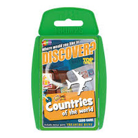 COUNTRIES OF THE WORLD TOP TRUMPS (6)