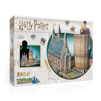 3D HOGWARTS GREAT HALL 850pc  (4)