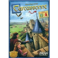 CARCASSONNE  (6)  REVISED ED