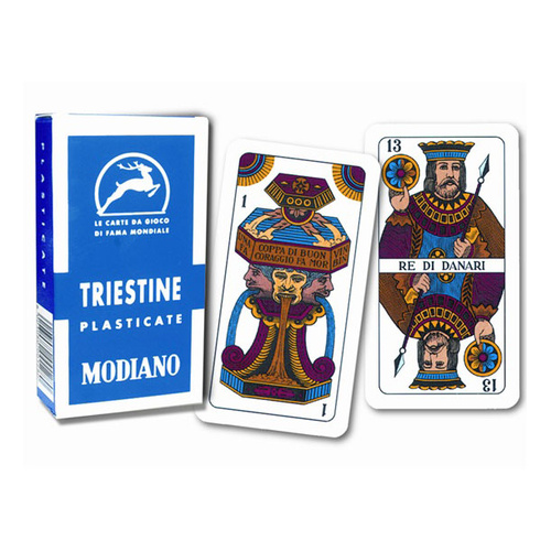 TRIESTINE REGIONAL CARDS (MODIANO)